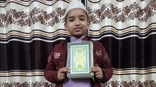 Eight- year old Yasin becomes Hafez of Holy Quran in 99 days