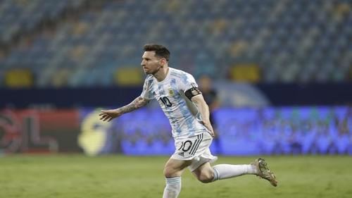 Argentina beats Ecuador at Copa America