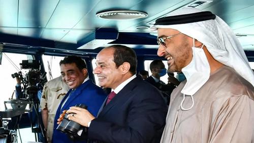 Egypt opens Mediterranean naval base