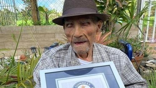 Emilio Márquez confirmed as the world's oldest man