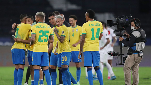 Brazil moves to final of Copa America football