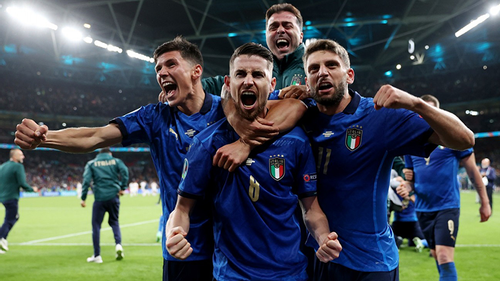 Italy beat Spain on penalties to reach Euro final