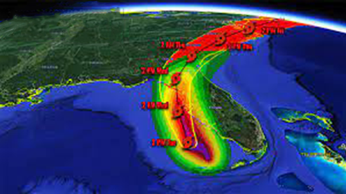 Millions in Florida remain under a hurricane warning