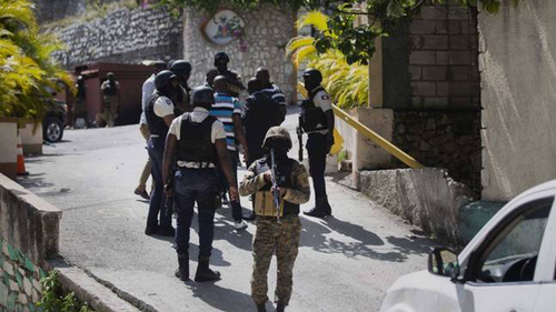 Police kill four after Haiti's president assassinated