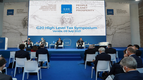 G20 finance ministers agree to go ahead with tax reform