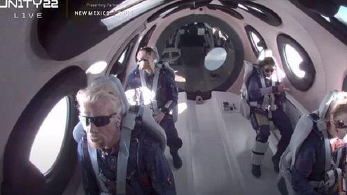 Richard Branson's galactic flight opens space tourism