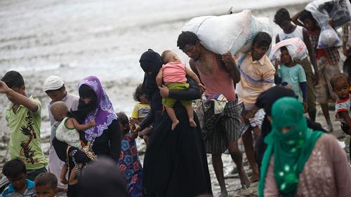 UN adopts resolution on Rohingya return