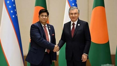 FM meets Uzbekistan President