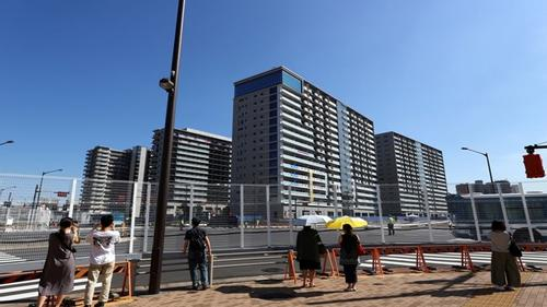First athletes have Covid at Olympic village