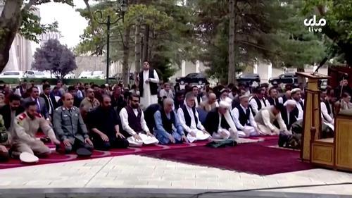 Rockets land near Afghan president house during Eid prayers