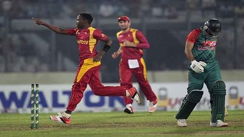 Zimbabwe beat Bangladesh in 2ndT20