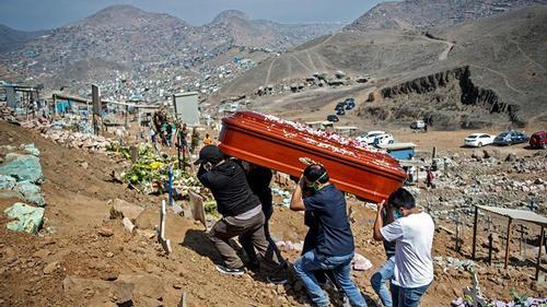 পেরুতে করোনায় মৃত্যুর হার সবচেয়ে বেশি