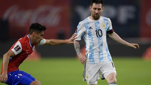 Argentina draw against Chile in World Cup Qualifiers