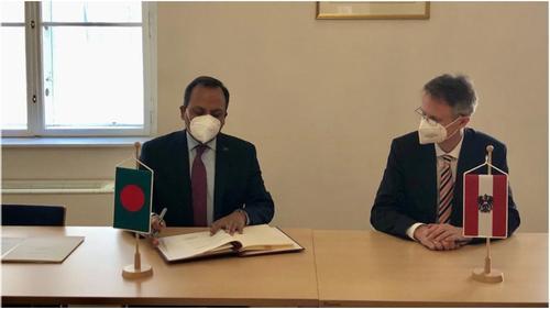 Bangladesh-Austria sign Air Services Agreement