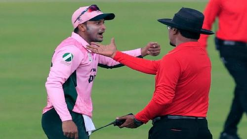 Shakib to get punishment! CCDM is awaits the match referee's report
