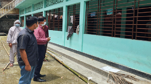 সুনামগঞ্জের জগন্নাথপুরে ৫ বাড়ি লকডাউন