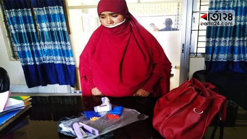 কুমিল্লায় থানায় স্বামীকে দেখতে গিয়ে ইয়াবাসহ স্ত্রী আটক