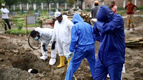 More 50 people die, 3319 infected & 2243 recovered