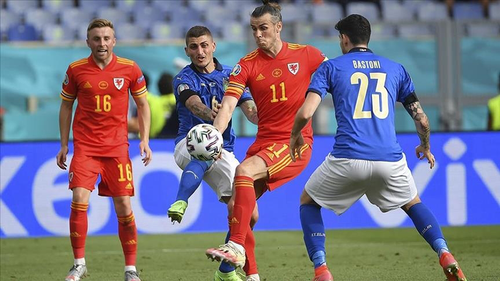 Italy beats Wales to finish Euro 2020 group stag