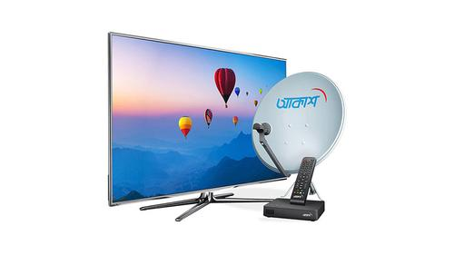 10 subscribers win smart TV from AKASH