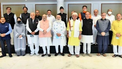 Modi commits to restore the status of Jammu–Kashmir
