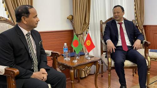 Bangladesh envoy presents credentials to Kyrgyz Foreign Minister