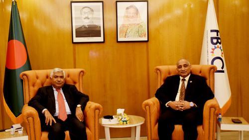 Bangladesh ambassador to Kuwait meets FBCCI president