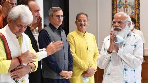 Modi promises elections in Kashmir
