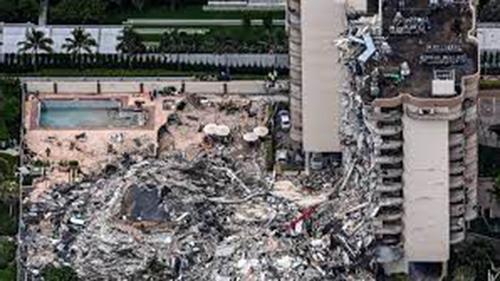 Miami building collapse: 159 missing