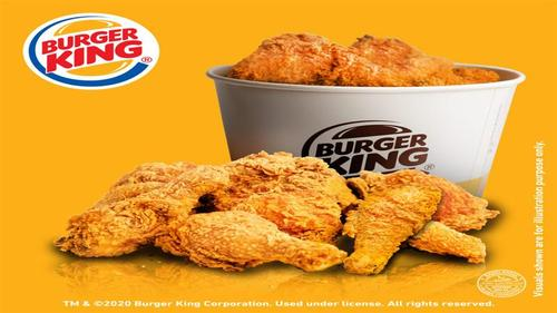 Burger King launches new king of fried chicken