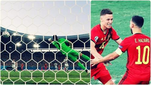 Belgium knock out defending champions Portugal