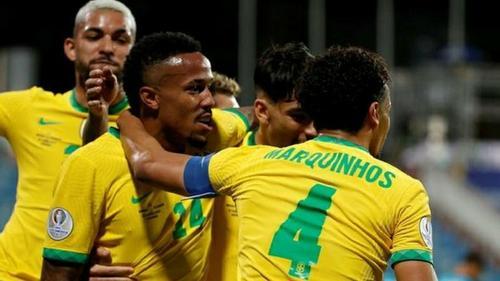 Ecuador holds Brazil to 1-1 draw