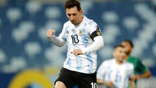 Messi scores twice against Bolivia