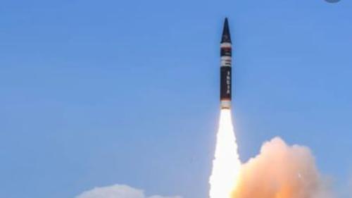 India successfully test-fires Agni P missile