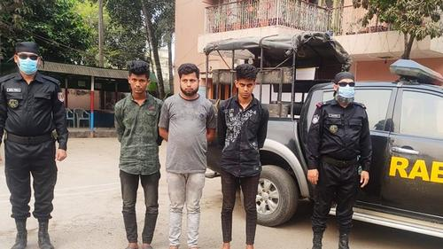কুমিল্লায় মোটরসাইকেল চোরচক্রের তিন সদস্য গ্রেফতার