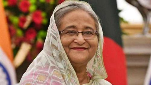 Once again Sheikh Hasina is with the pandemic hit poor people