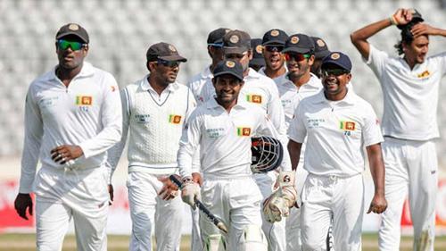 Lankan wins Test series against Tigers