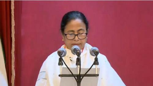 Mamata sworn in as West Bengal Chief Minister