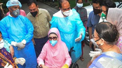 Khaleda Zia's physical condition is stable
