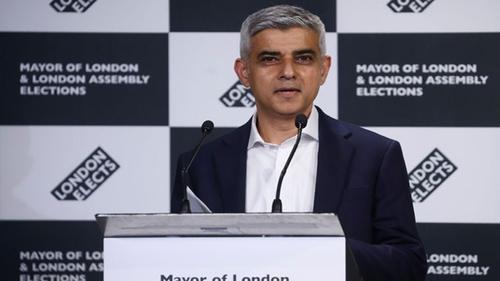 Sadiq Khan re-elected London mayor