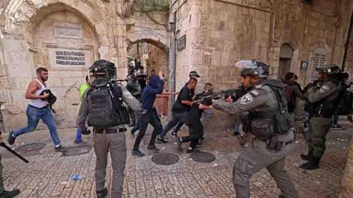 Fresh Jerusalem clashes ahead of nationalist march