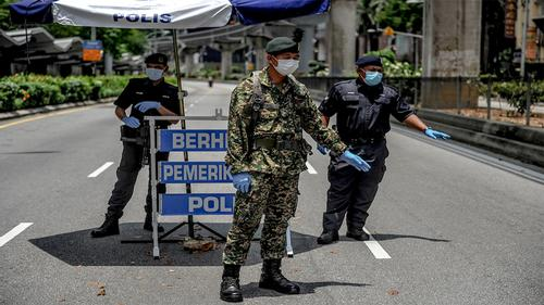 Malaysian prime minister announces one-month lockdown
