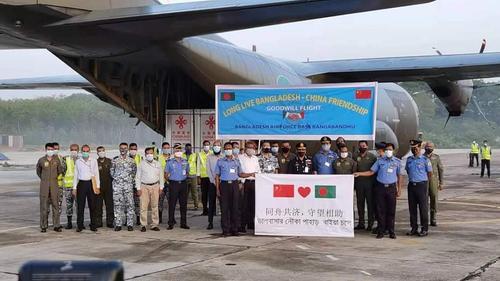 Chinese gift 5 lakh doses of Corona vaccine reach Dhaka