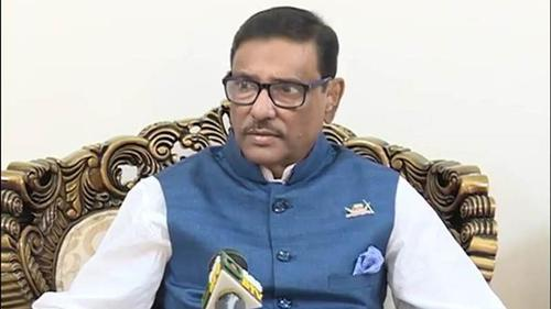 Refrain from political blame game: Quader