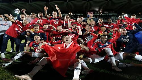 Lille win French Ligue 1 title