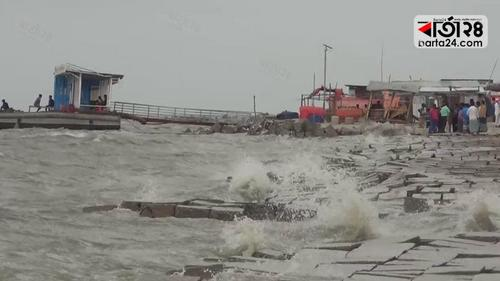 Two killed in cyclone Yass in Bhola