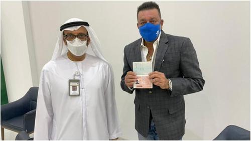 Sanjay Dutt receives UAE's golden visa