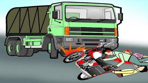 বগুড়ায় ট্রাক চাপায় মোটরসাইকেল চালক নিহত