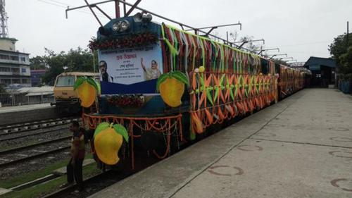 PM inaugurates special mango train
