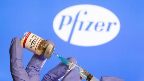 Pfizer vaccine arrives tonight